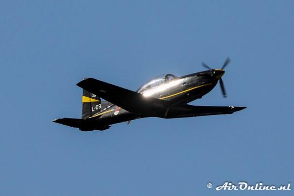 L-09 Pilatus PC-7 in dienst van de Koninklijke Luchtmacht