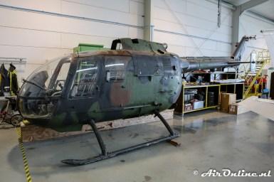 (B-78) MBB Bo.105CB-4 ex KLu