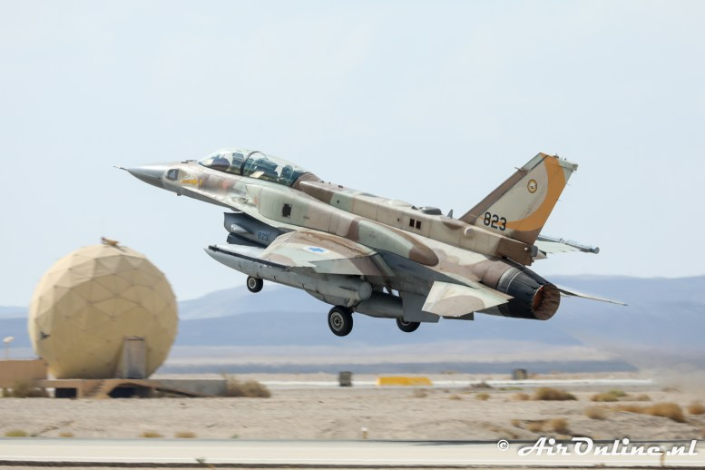 823 F-16I Sufa 107sq Israeli Air Force