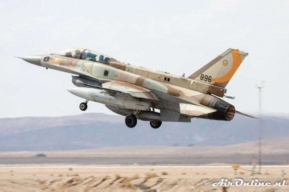 896 F-16I Sufa 107sq Israeli Air Force