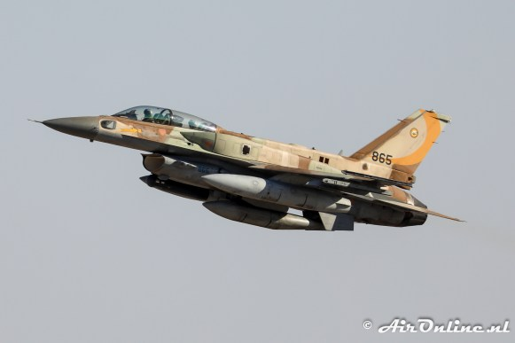 865 F-16I Sufa 107sq Israeli Air Force