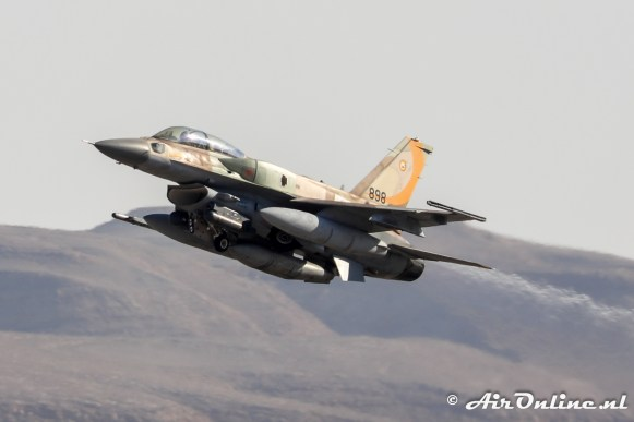 898 F-16I Sufa 107sq Israeli Air Force