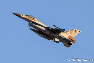 557 F-16C Block 40 Barak 101sq Israeli Air Force