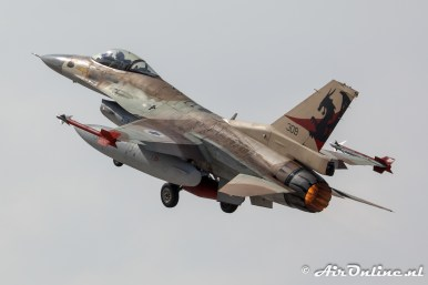 309 F-16C Block 30 Barak 115sq Flying Dragons Israeli Air Force