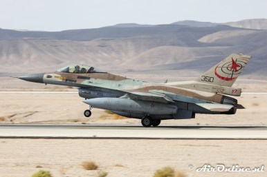 350 F-16C Block 30 Barak 117sq Israeli Air Force