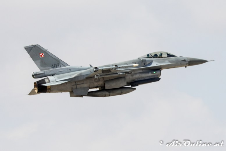4071 F-16C Block 52 32 BLT Polish Air Force