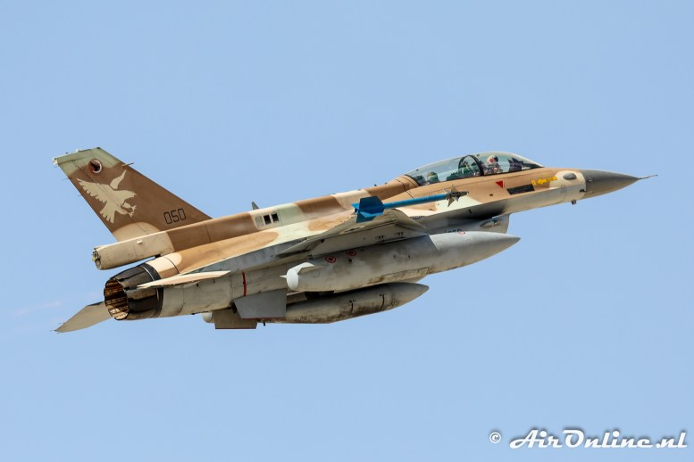 050 F-16D Block 30 Barak 109sq Israeli Air Force