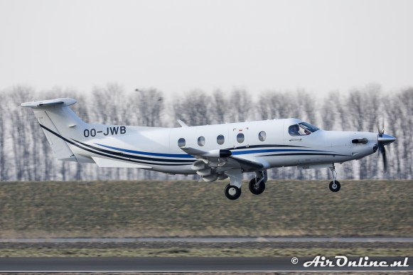 OO-JWB Pilatus PC-12/47E