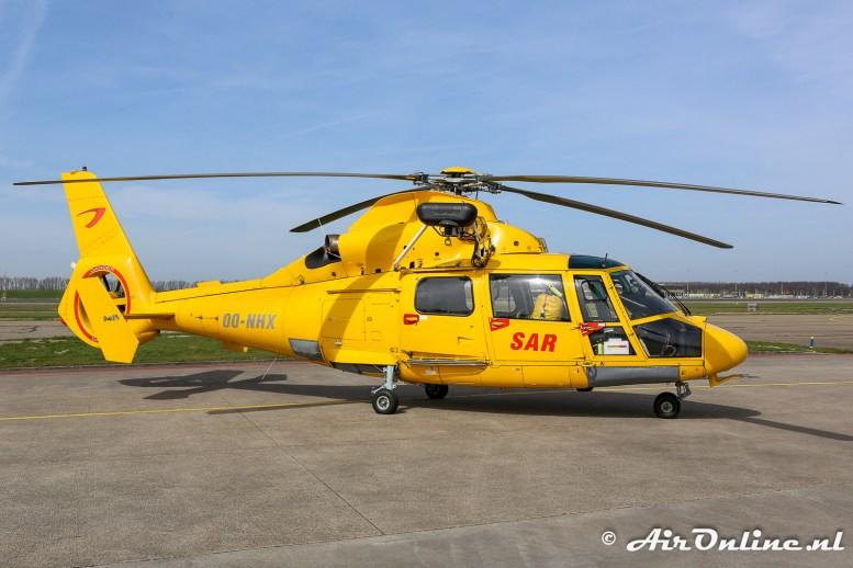 OO-NHX Aerospatiale 365N3 Dauphin 2 Coastguard / SAR