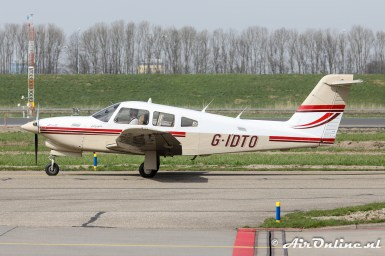 G-IDTO Piper PA28RT-201T Turbo Arrow IV