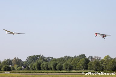 PH-KNE Piper PA-18-135 Super Cub + PH-1469 Schleicher ASK-21