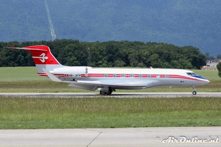 HB-JFP Gulfstream G650