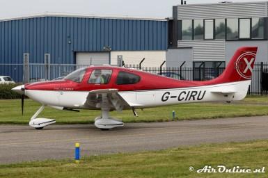 G-CIRU Cirrus SR20 X