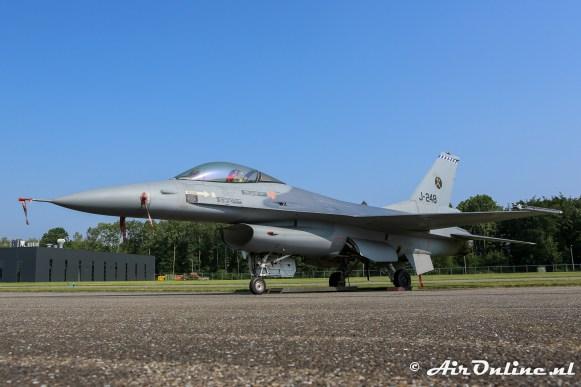 J-248 General Dynamics F-16A KLu