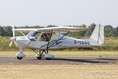 G-CEDC Comco Ikarus C42 FB100 Cyclone
