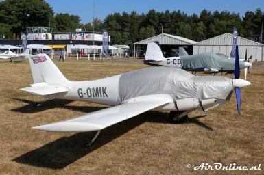 G-OMIK Europa Aircraft Europa Monowheel