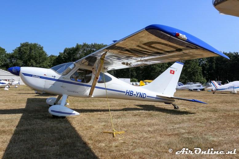 HB-YND Glasair GlaStar GS-1