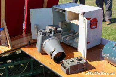 Kleinere camera voor de Spitfire