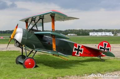 PH-DRI Fokker DR.I Replica