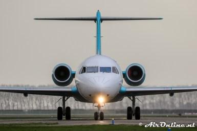 D-AOLH Fokker 100 (c/n 11505)