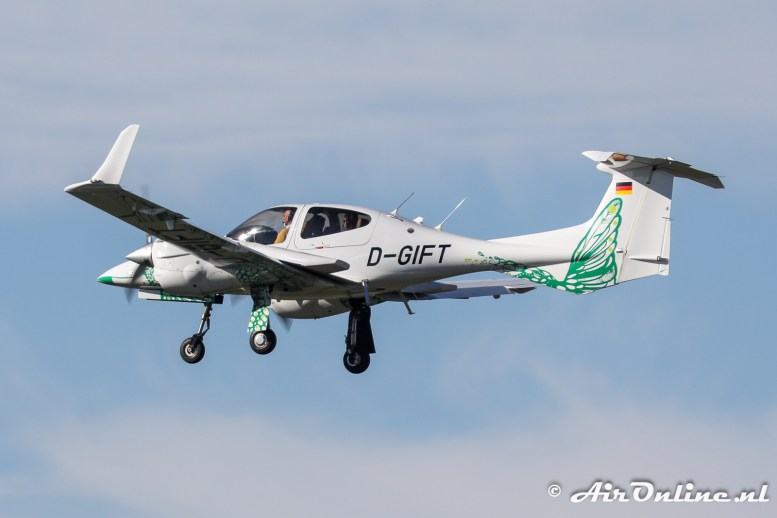 D-GIFT Diamond DA 42 NG Twin Star