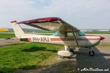 PH-ARJ Cessna 150M (hoort niet bij de collectie van de Vroege Vogels)