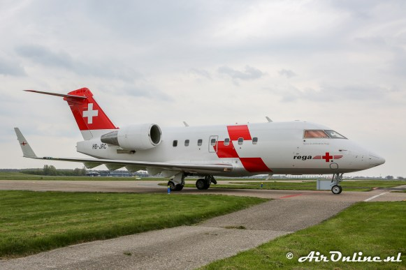 HB-JRC Bombardier CL-600-2B16 Challenger 604