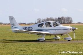 N830CD Cirrus SR22