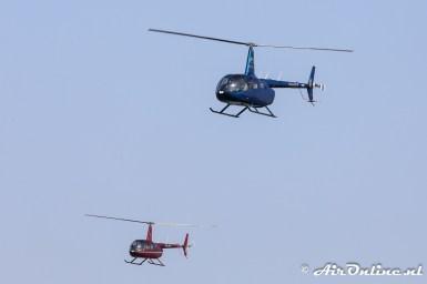 PH-HCE Robinson R66 Turbine + PH-JPS Robinson R44 Raven II