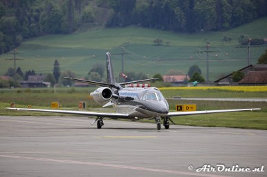 OO-SKS Cessna 560XL Citation Excel
