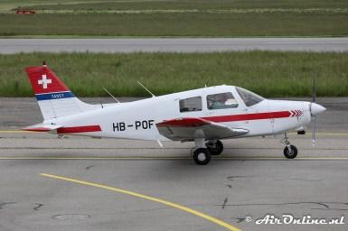 HB-POF Piper PA-28-161 Cadet