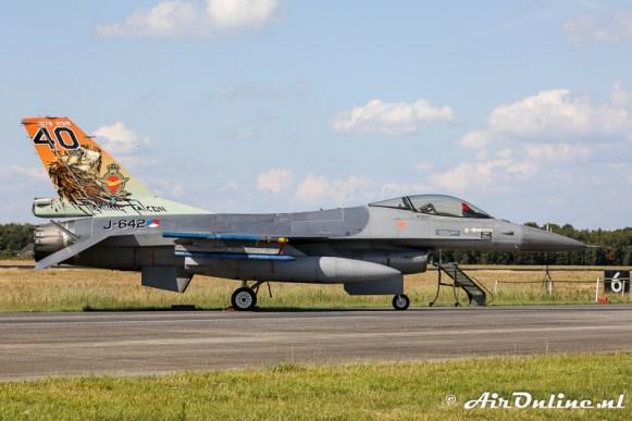 J-642 General Dynamics F-16AM Fighting Falcon - KLu