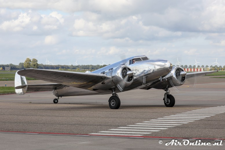 N18130 Lockheed 12A Electra Junior