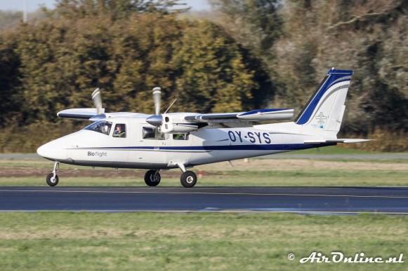OY-SYS Vulcanair P.68C