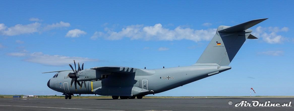 54+14 Airbus A400M-180 Atlas - Luftwaffe