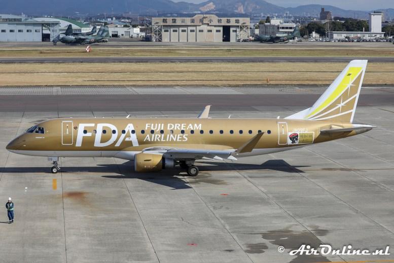 JA09FJ Embraer ERJ-175STD - Fuji Dream Airlines