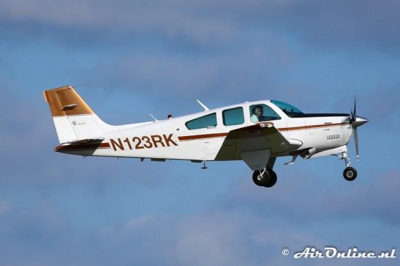 De PH-ERK is de de N123RK Beech F33A Bonanza geworden