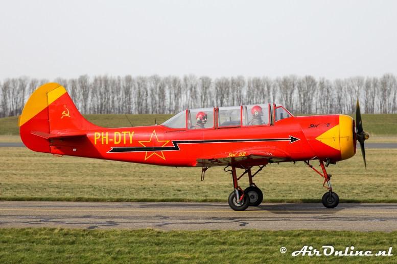 PH-DTY Yakovlev Yak-52