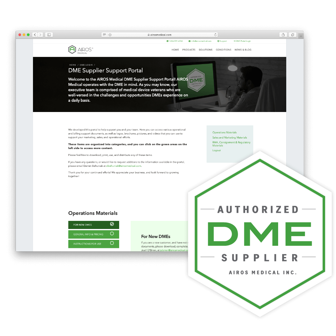 DME Supplier Support Portal