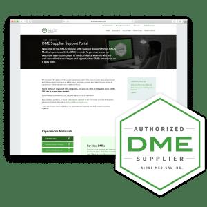 DME Supplier Support Portal