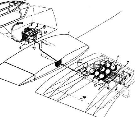 Bf 109K-4 Kurfurst Oxigen System