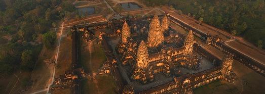 Angkor Wat, Καμπότζη - AirPano.com • 360 μοιρών Εναέρια Πανόραμα • 3D Virtual Tours σε όλο τον κόσμο