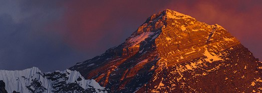 Everest from the height of 7000 meters, Nepal - AirPano.com • 360 Degree Aerial Panorama • 3D Virtual Tours Around the World