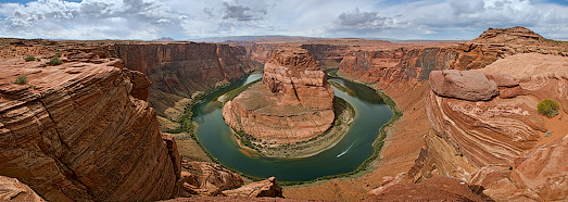 Horseshoe Bend, Colorado River, Arizona - AirPano.com • 360 Degree Aerial Panorama • 3D Virtual Tours Around the World