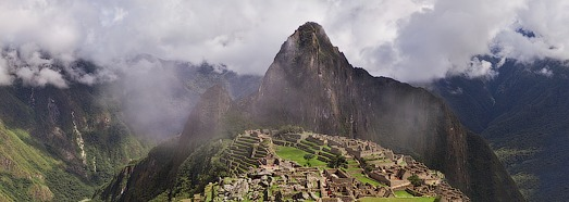 Machu Picchu - the ancient city of the Inca Empire - AirPano.com • 360 Degree Aerial Panorama • 3D Virtual Tours Around the World