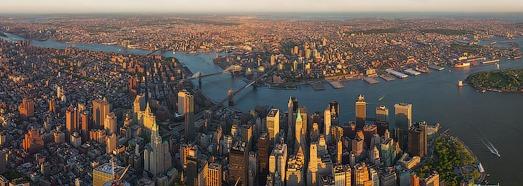 Μεγάλο περιοδεία του Μανχάταν, στη Νέα Υόρκη, ΗΠΑ - AirPano.com • 360 μοιρών Εναέρια Πανόραμα • 3D Virtual Tours σε όλο τον κόσμο