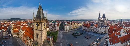 Prague, Czech Republic - AirPano.com • 360 Degree Aerial Panorama • 3D Virtual Tours Around the World