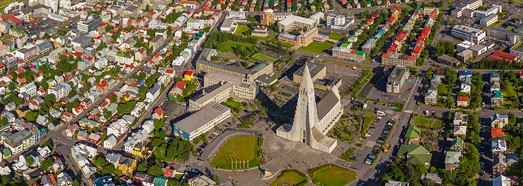 Reykjavik, Iceland - AirPano.com • 360 Degree Aerial Panorama • 3D Virtual Tours Around the World