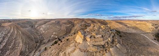 Κάστρο Shoubak, Ιορδανία • AirPano.com • 360 ° εναέρια πανοράματα • 360 ° εικονικές περιηγήσεις σε όλο τον κόσμο
