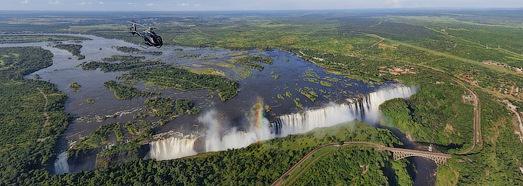 Virtual Tour over Victoria Falls, Zambia - Zimbabwe - AirPano.com • 360 Degree Aerial Panorama • 3D Virtual Tours Around the World